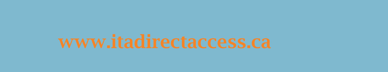 Instructions for ITA Direct Access